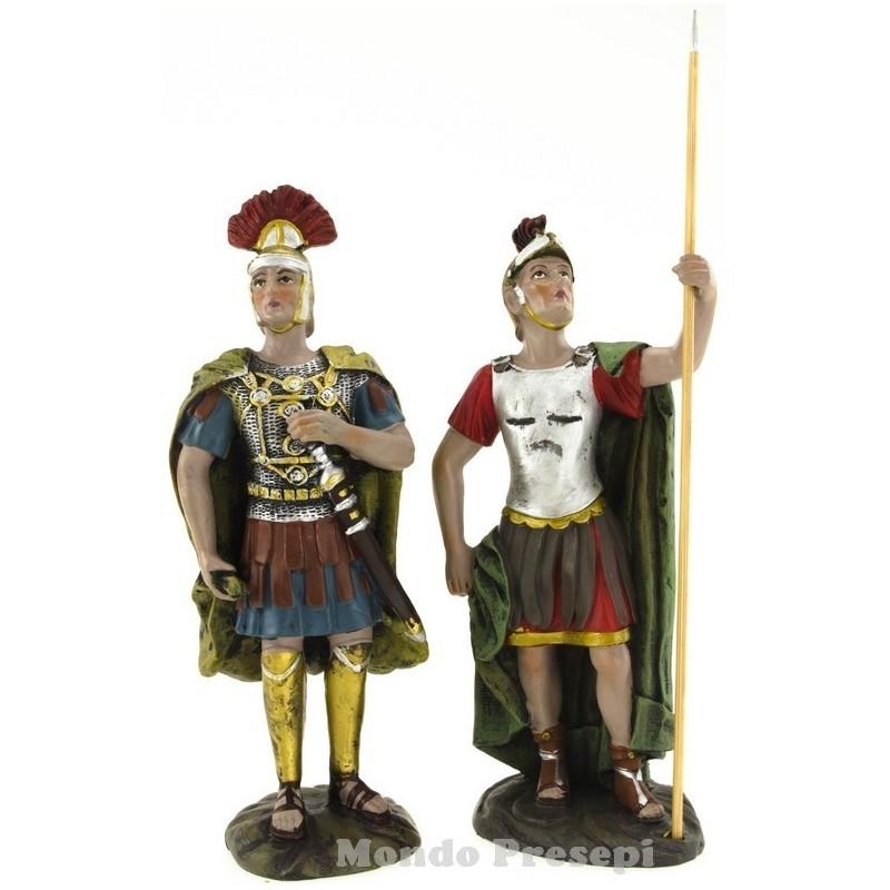 Mondo Presepi Cm 15 Set 2 soldati con spada e lancia