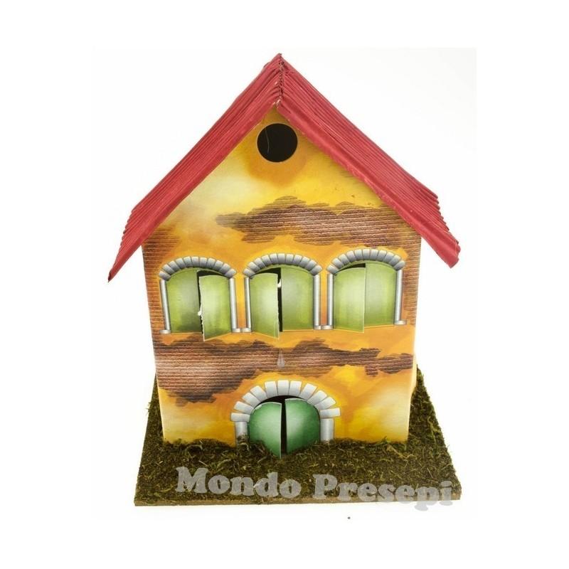 Mondo Presepi Casa cm 13x9x15h