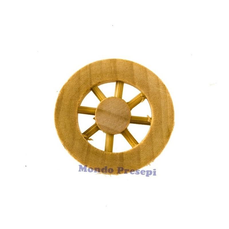 Ruota in legno ø 2,5 Cm