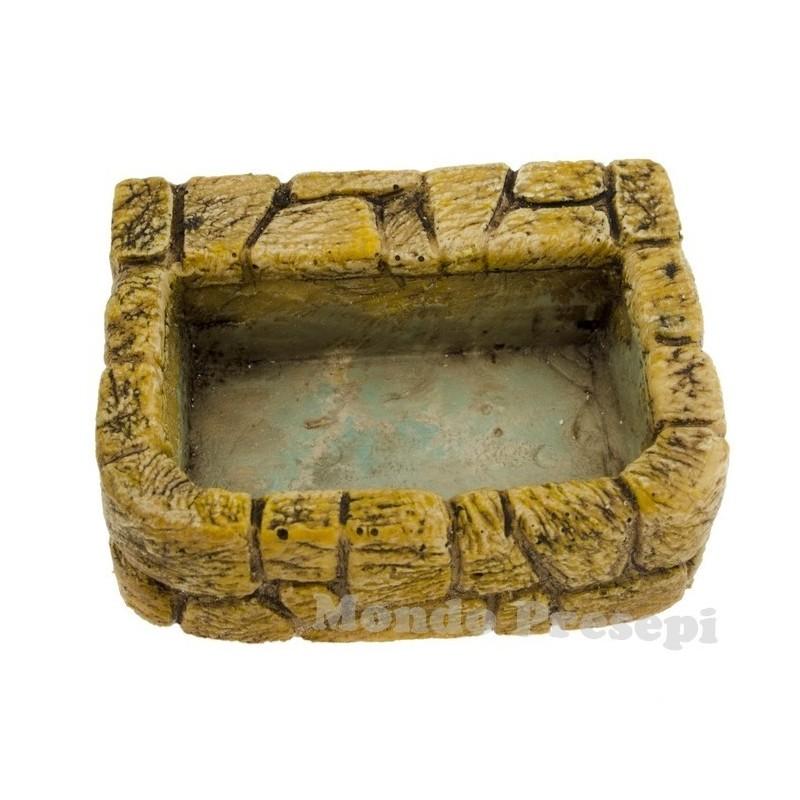 Mondo Presepi Abbeveratoio in pietre cm 5,2x4,2