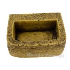 Abbeveratoio in pietre cm 5,2x4,2