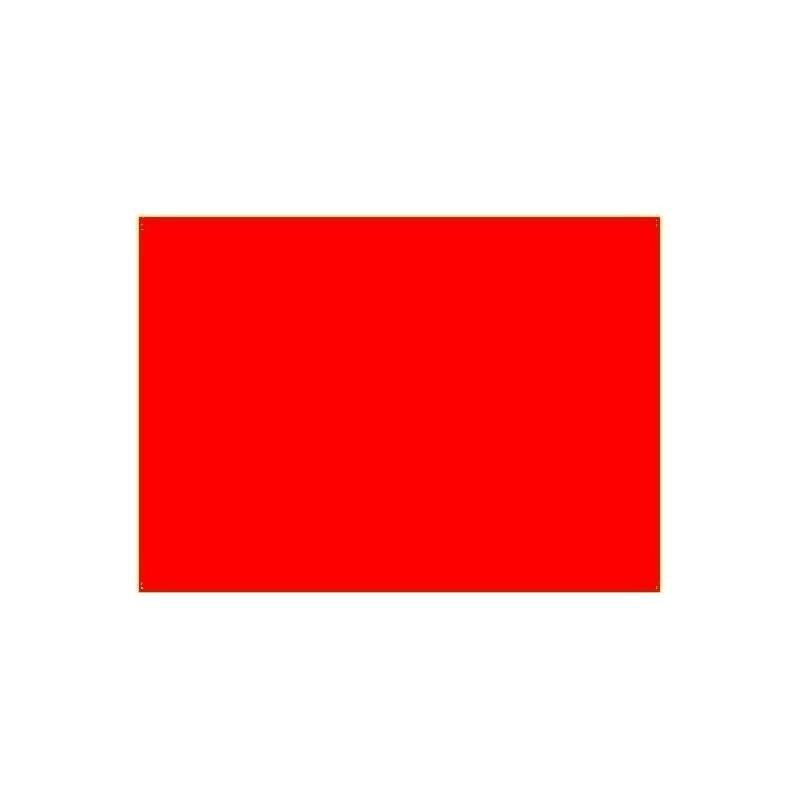 Shiny red jelly 25x30 cm