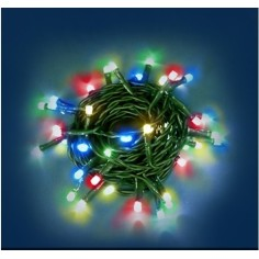 Led serie da 20 color 220V. - luci natale