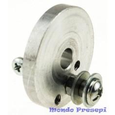 Puleggia ø 3,5 cm con perno - per motoriduttori 4w