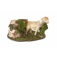 Sheep in motion. for statues 24-30 cm with high heads