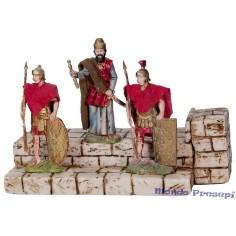 2 guardie e re erode in movimento