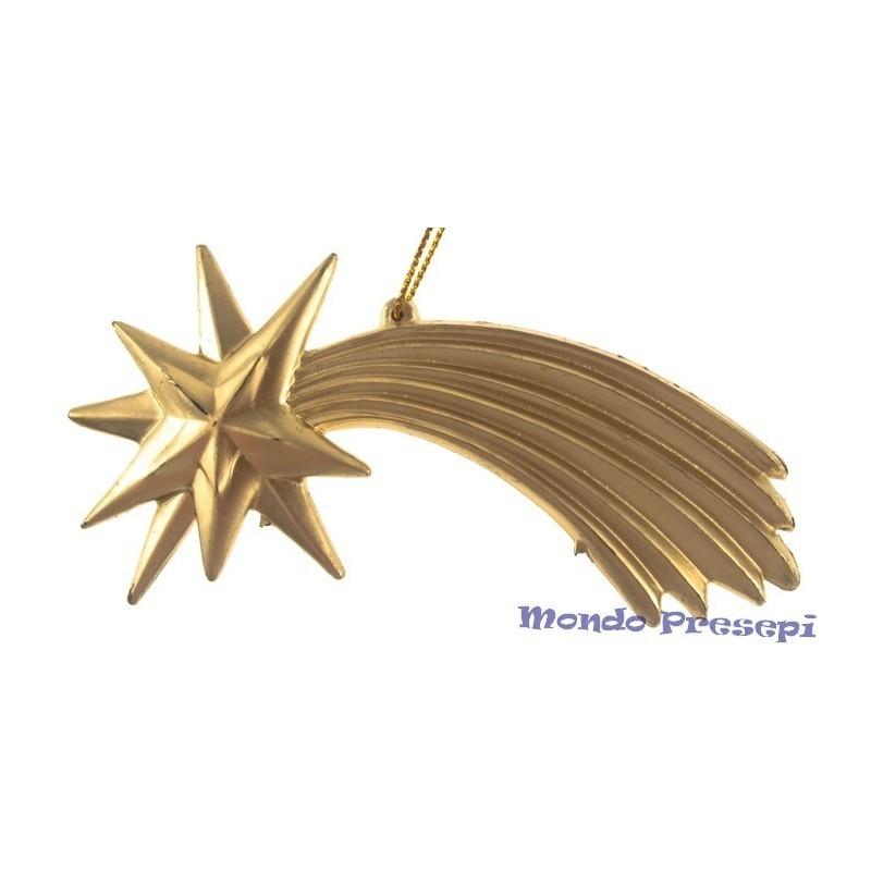 Mondo Presepi Stella cometa oro per presepe