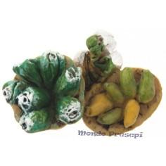 Composizione verdure cm 4,5 Mondo Presepi