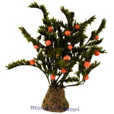 12 cm tree with oranges