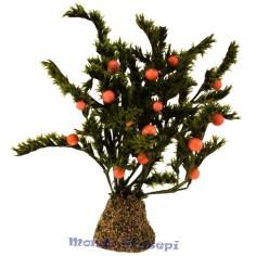 Mondo Presepi Albero cm 12 con arance