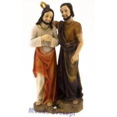 cm 20 Battesimo di gesù opera di G. Battista
