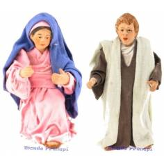 Cm 11,5 Giuseppe e Maria