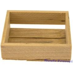 Mondo Presepi Cassetta in legno cm 4X3,5X1,5
