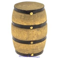 Botte in legno deluxe cm 5 - Accessori in miniatura presepe