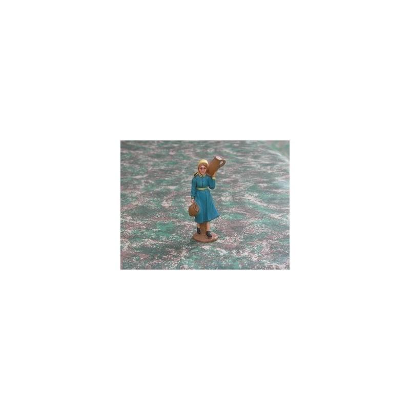 Mondo Presepi Donna con anfora cm 10