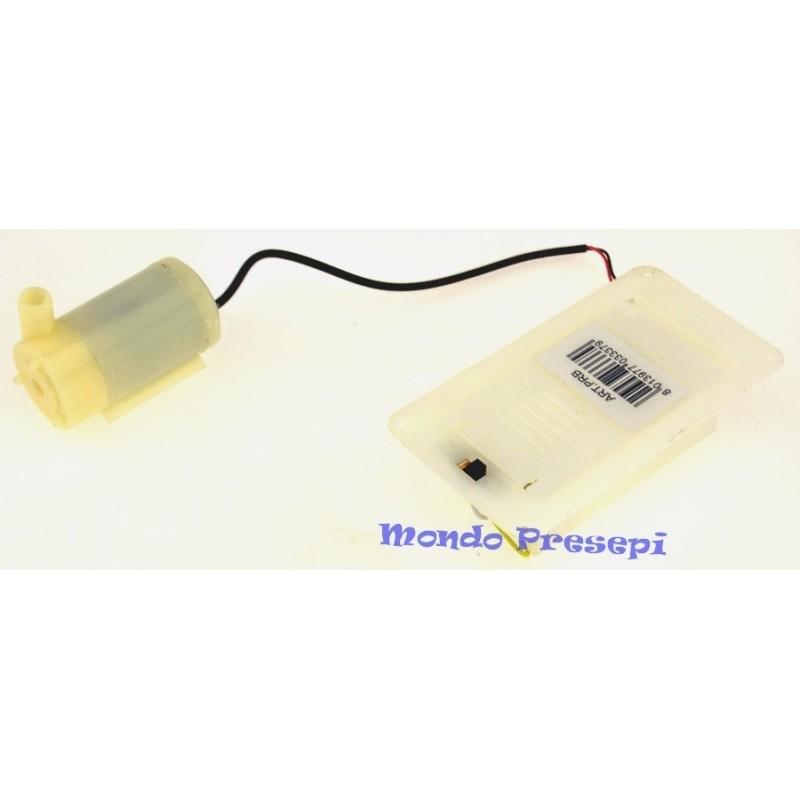 Mondo Presepi Pompa a batterie con portapile incluso