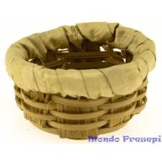 Low wicker basket ø 2.5-2.7 cm