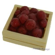 Mondo Presepi Cassetta lux Mele rosse cm 3x2,8