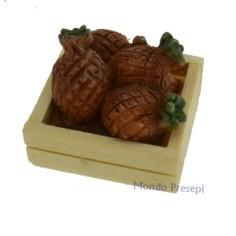 Mondo Presepi Cassetta lux ananas cm 3x2,8