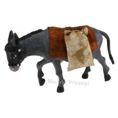 Mondo Presepi Asino con sacchi - per statue cm 15-20