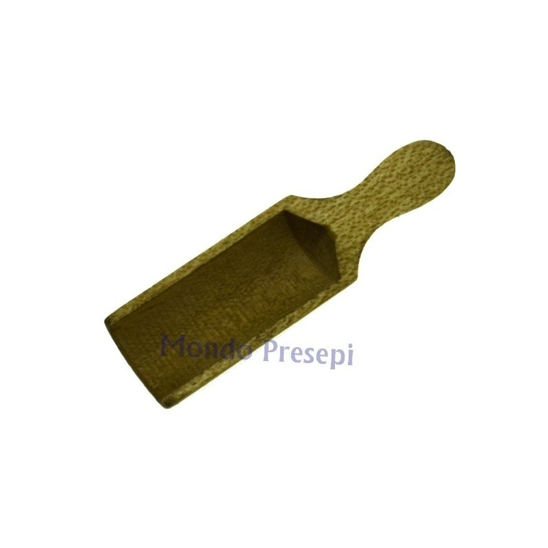 Paletta in legno invecchiato cm 4,5 Mondo Presepi