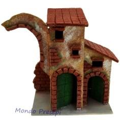 Casa in sughero con doppia porta