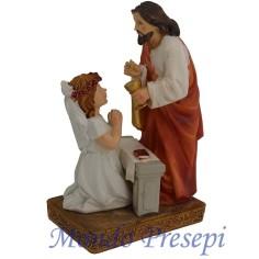 "Mondo Presepi Scena sacramento ""Comunione"""