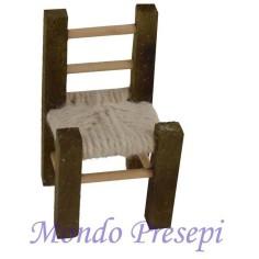 Sedia in legno cm 6,5
