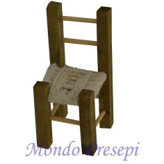 Chair in wood cm 4,5