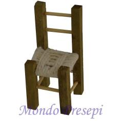 Mondo Presepi Sedia in legno cm 4,5