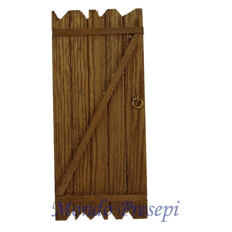 Porta in legno cm 5x11