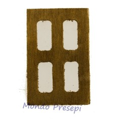 Finestra in legno cm 3x4,5