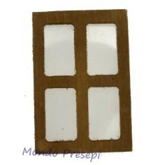 Finestra in legno cm 4,5x6,5
