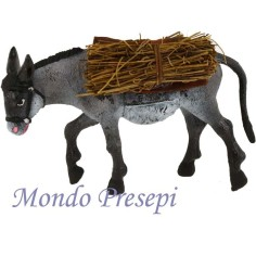Donkey with bags - for statues cm 15-20