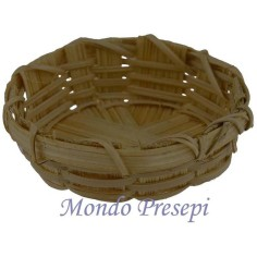Basket low wicker cm 4