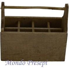 Mondo Presepi Cassetta attrezzi in legno 5669