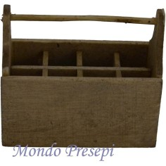 cassetta attrezzi in legno - mondo presepi