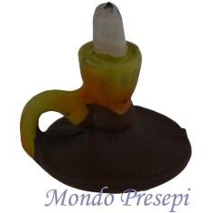 Bugia con candela Ø cm 1,8