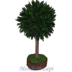 Mondo Presepi Albero verde cm 10 h.