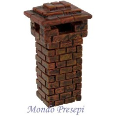 Mondo Presepi Camino in resina disponibile in varie misure: