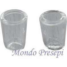 Set of 2 Glasses, glass mm 5x8