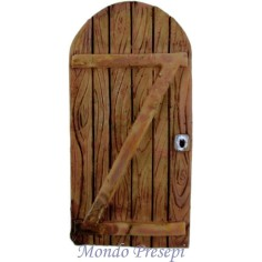 Door resin wood effect