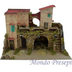 Mondo Presepi Casolare cm 33,5x18x24 h.