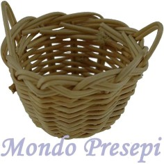 Basket with handles, Ø 3 cm
