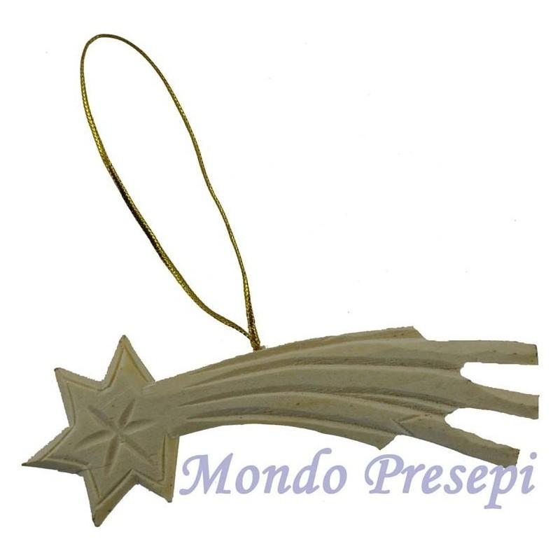 Mondo Presepi Cometa in legno cm 11,5