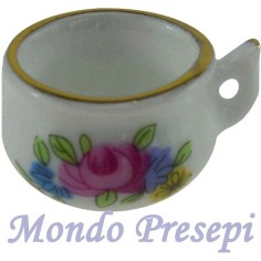 Mondo Presepi Ciotola in porcellana Ø 2 cm