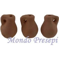 Set of 3 amphorae cm 1,6