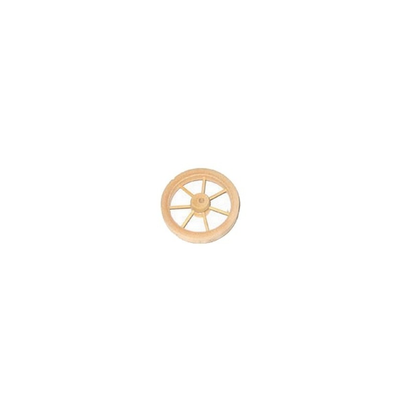 Mondo Presepi Ruota in legno ø cm 5,5