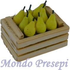Mondo Presepi Cassetta cm 3,5 due listelli con pere