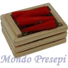 Mondo Presepi Cassetta cm 3,5 due listelli carote